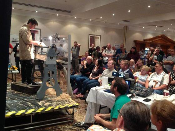 Woodturning courses in Dorset and Somerset. Joe Creed-Kaile giving a demonstration part 1.